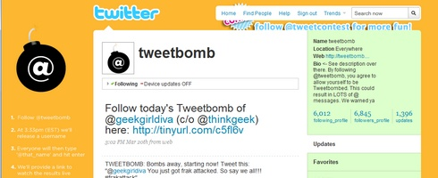 tweetbomb