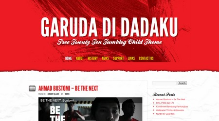 Garuda di dadakuTumblog WordPress theme