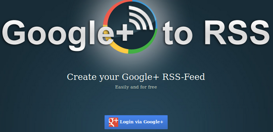Google RSS Feed